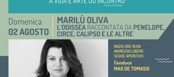Incontri all'imbrunire presenta MARILU' OLIVA