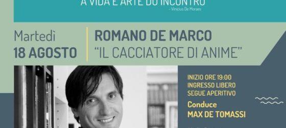 INCONTRI ALL'IMBRUNIRE presenta ROMANO DE MARCO