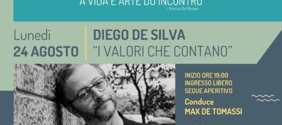 INCONTRI ALL'IMBRUNIRE presenta DIEGO DE SILVA