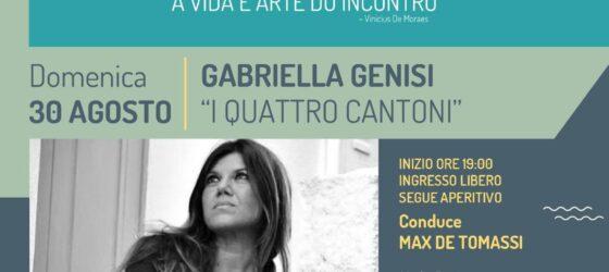 INCONTRI ALL'IMBRUNIRE presenta GABRIELLA GENISI